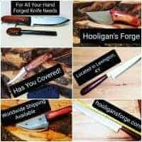 Hooligan\'s Forge Hand Forged Knives