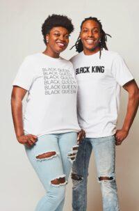 Black King & Queen